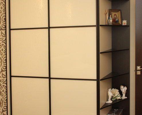 Двустворчатый шкаф-купе в спальне - Андари