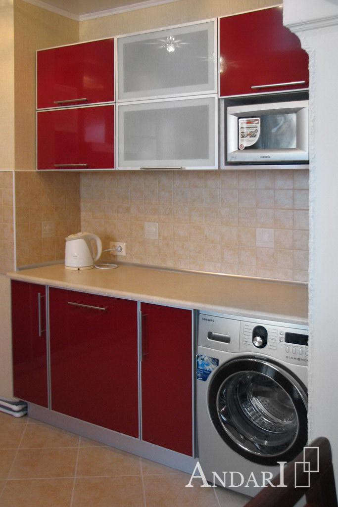 Стиральная машина на кухне - Андари