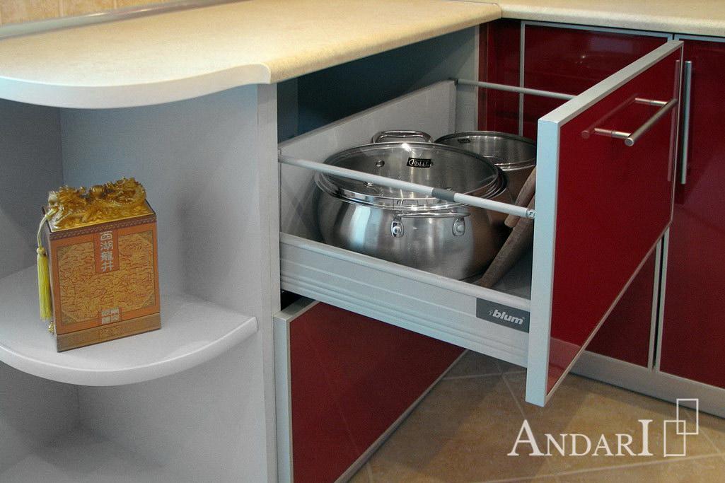 Ящик с двумя механизмами Tandembox Plus Blum - Андари