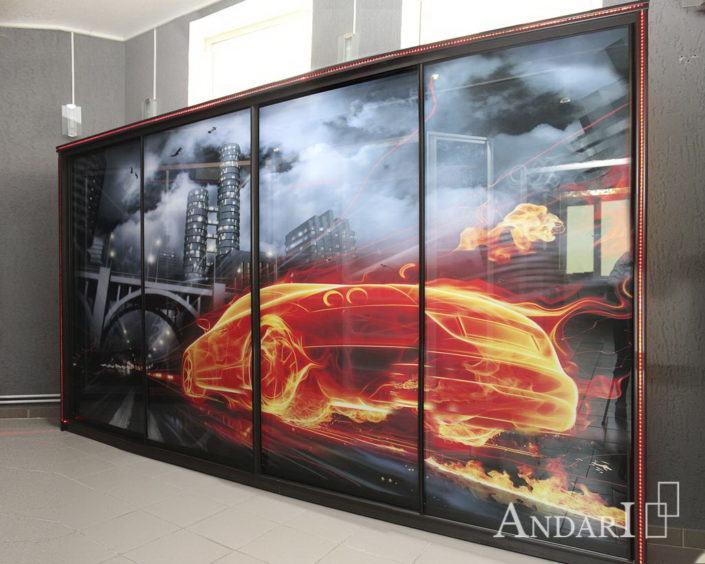 Шкаф-купе с фотопечатью - Андари