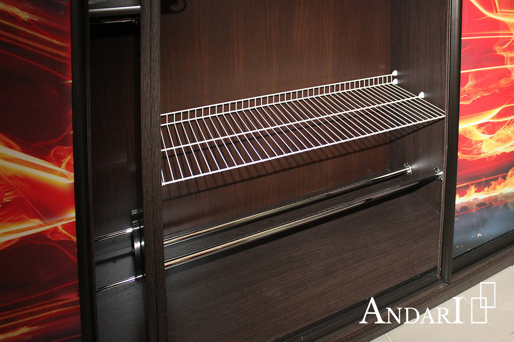 Наполнение шкафа-купе: сетчатая полка для обуви Komandor - Андари