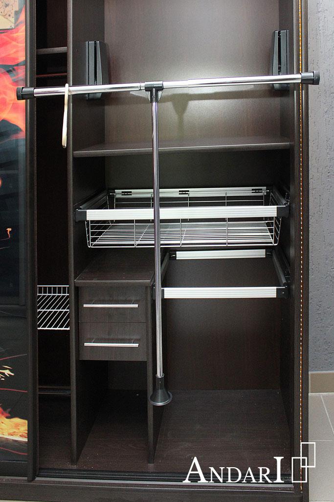 Наполнение шкафа-купе: пантограф - Андари
