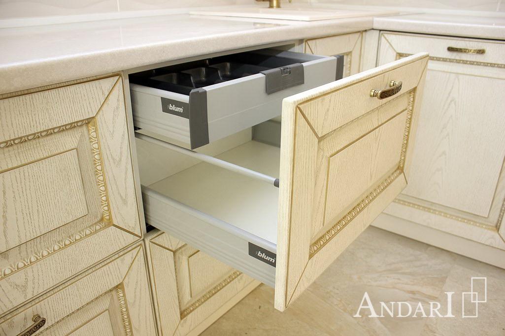 Внутренний скрытый ящик Tandembox Blum - Андари