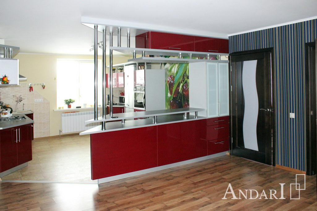 Барная стойка необычной формы - Андари