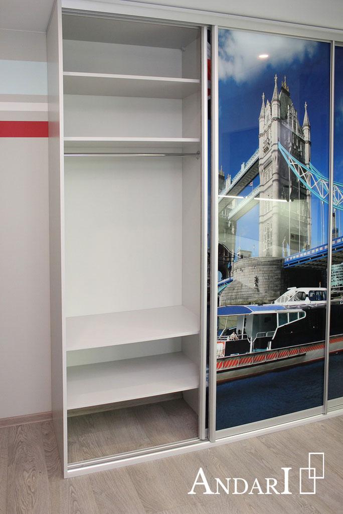 Наполнение шкафа-купе: вешалка - Андари