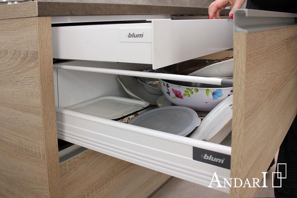 Внутренний ящик Tandembox PLUS - Андари