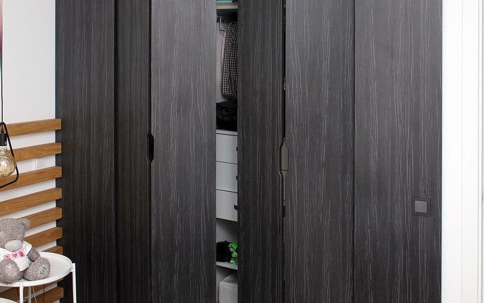 Гардеробная со складными дверями - Андари