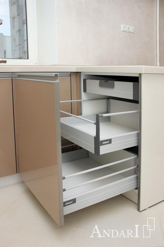 Внутренние ящики Tandembox / Blum с релингами - Андари
