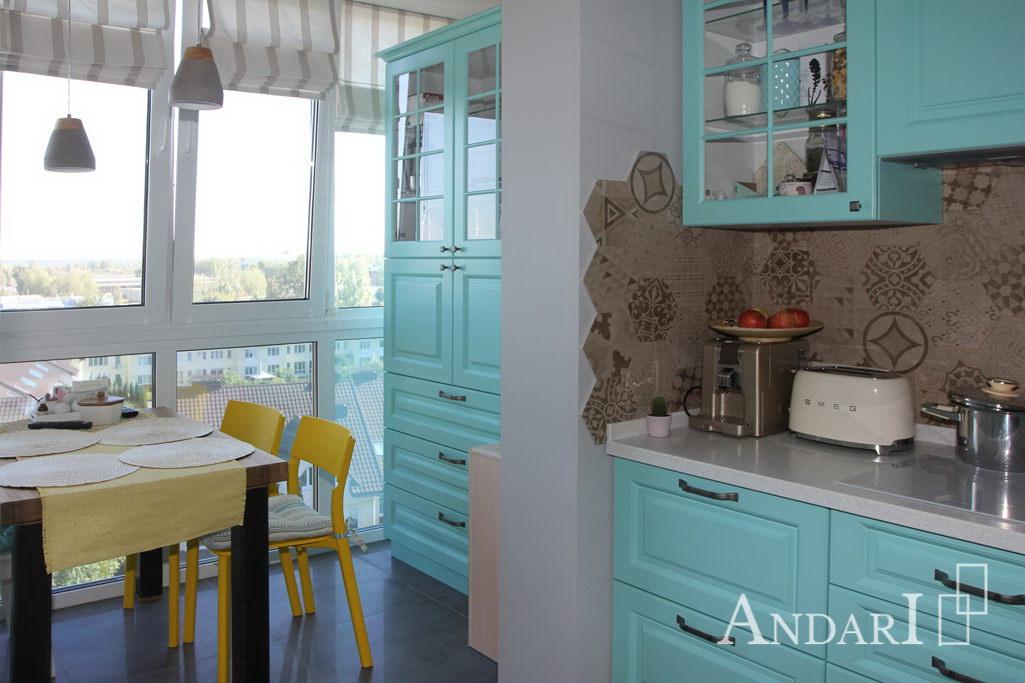 Обеденная зона на кухне - Андари
