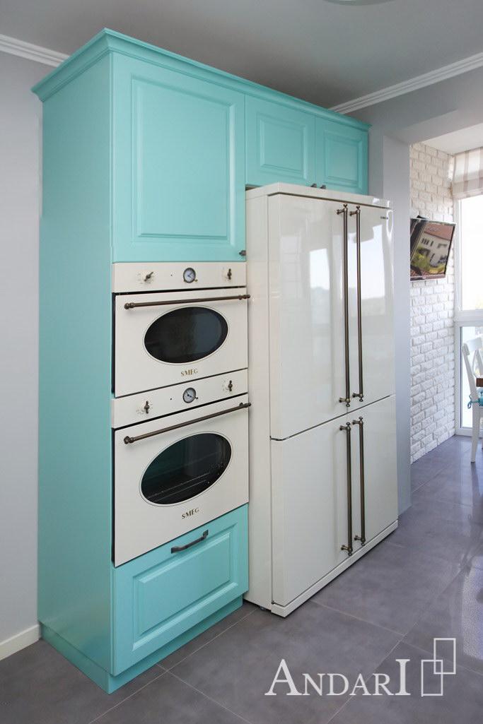Пенал для бытовой техники на кухне - Андари