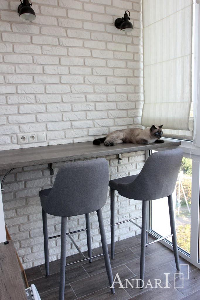 Столик на балконе - Андари