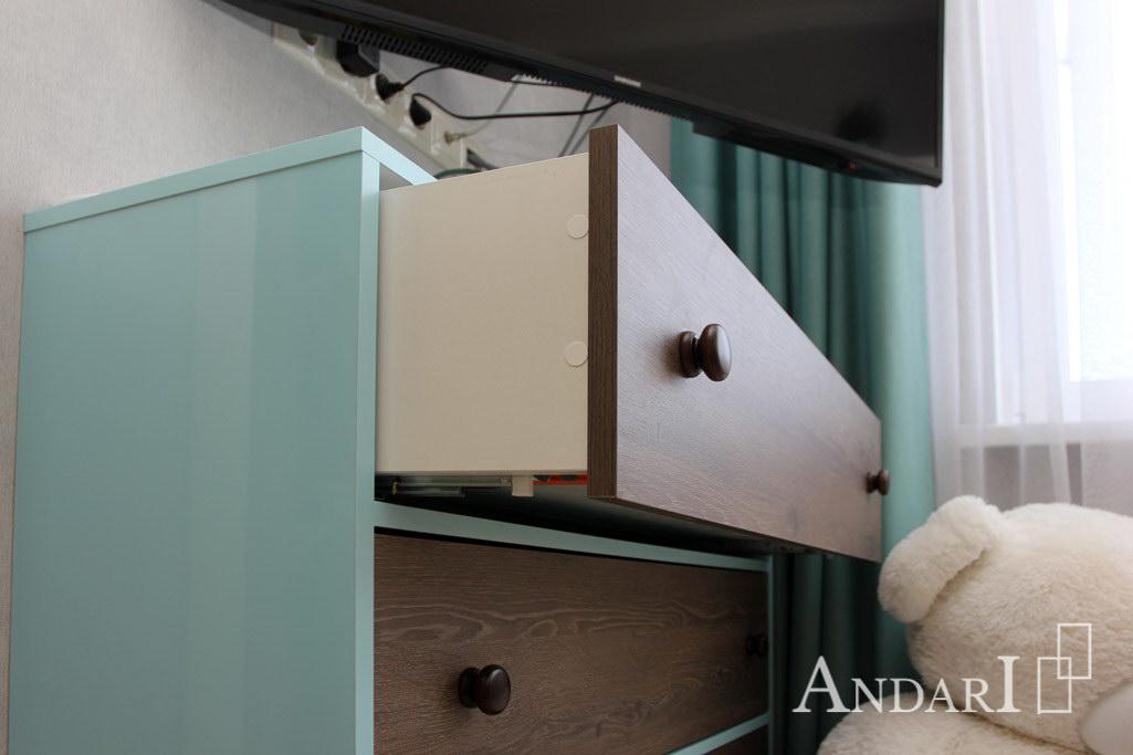 Скрытые направляющие Tandem Blum для деревянных ящиков Андари