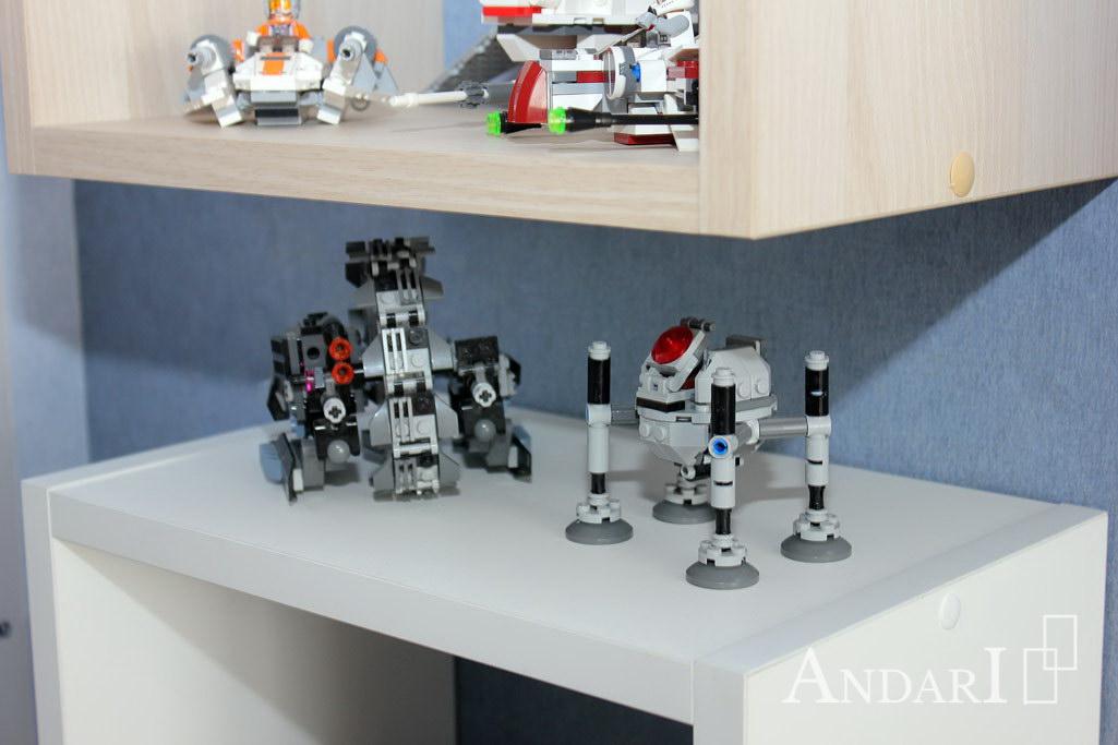 Полки для игрушек в детской - Андари