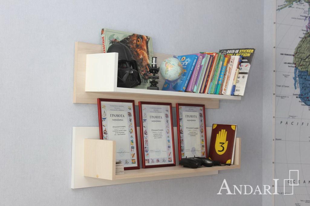 Полки для книг в детской - Андари