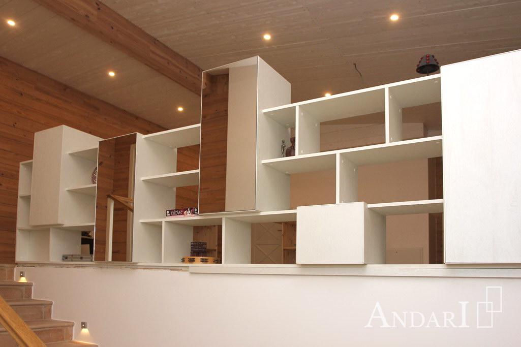 Белая мебель для гостиной - Андари