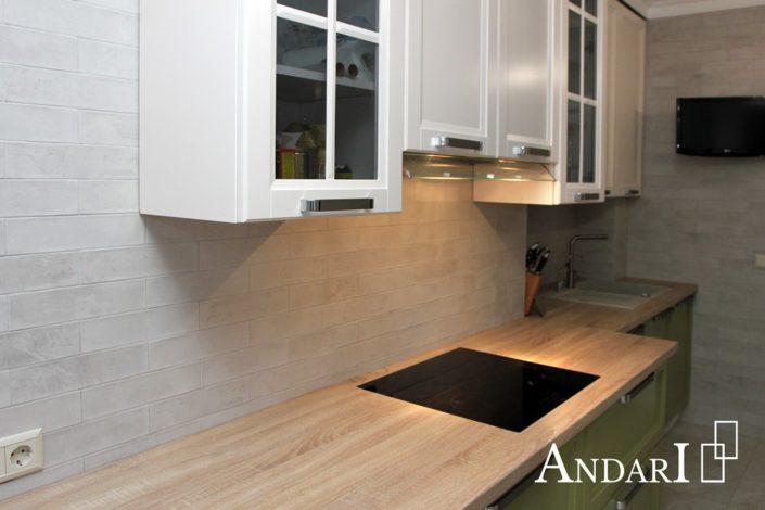 Врезная варочная панель на кухне - Андари