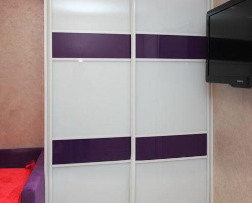 Двухдверный корпусной шкаф-купе в детской - Андари