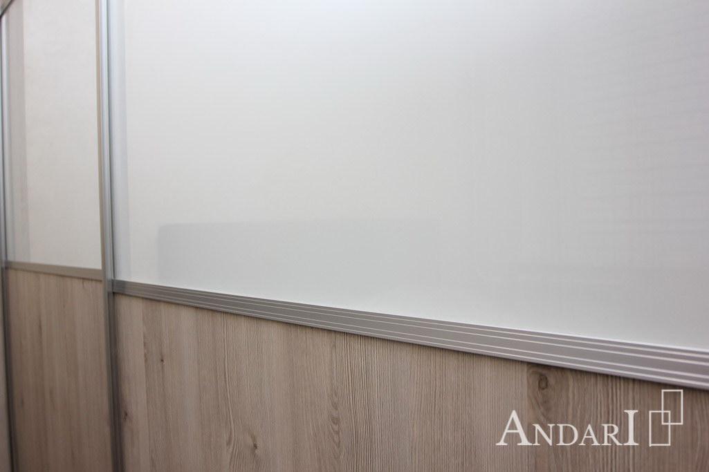 Вставки стекла Лакобель на дверях-купе - Андари
