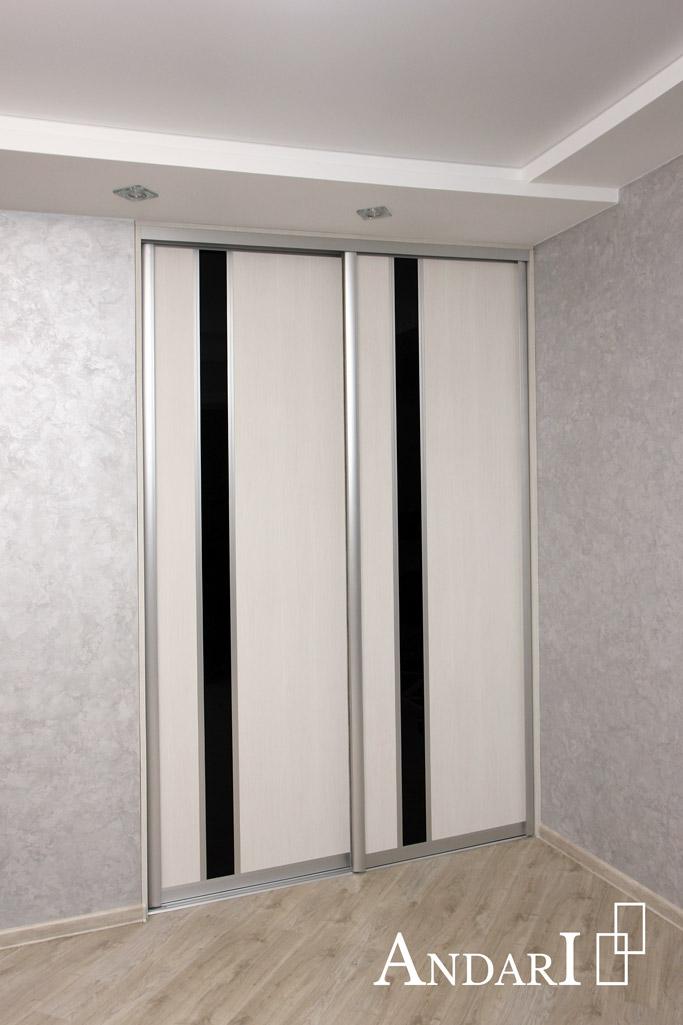 Двери-купе для гардеробной в коридоре - Андари