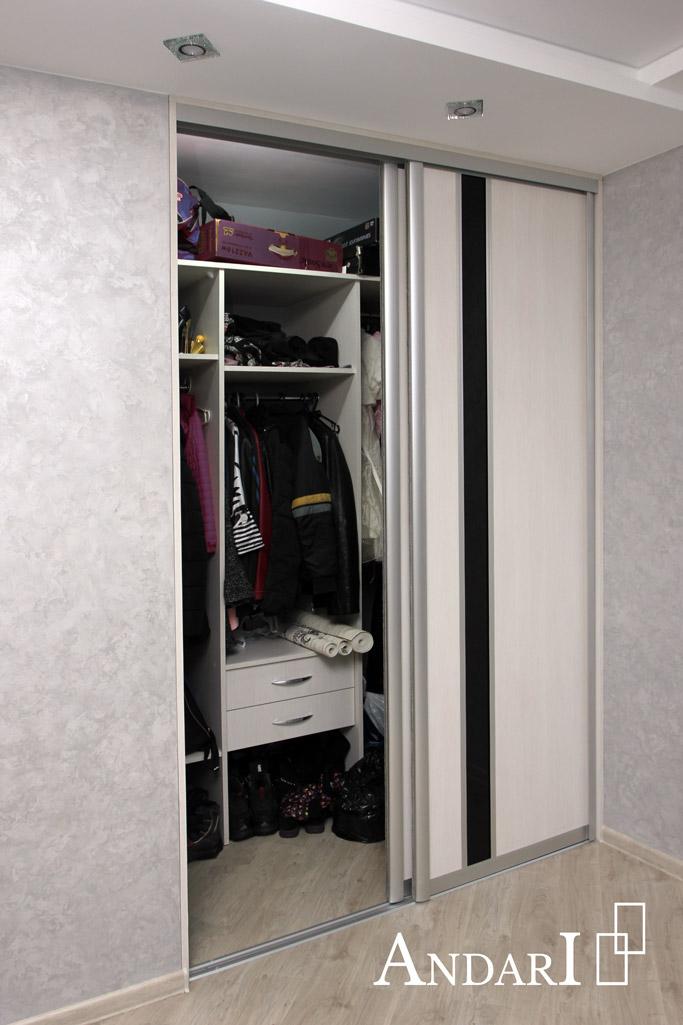 Наполнение гардеробной: стеллаж с выдвижными ящиками - Андари