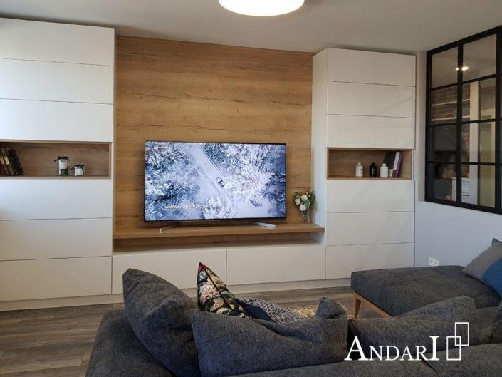 Белая гостиная с нишами - Андари