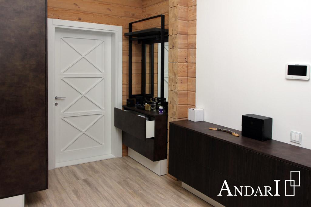 Тумба с выдвижными ящиками и зеркалом - Андари