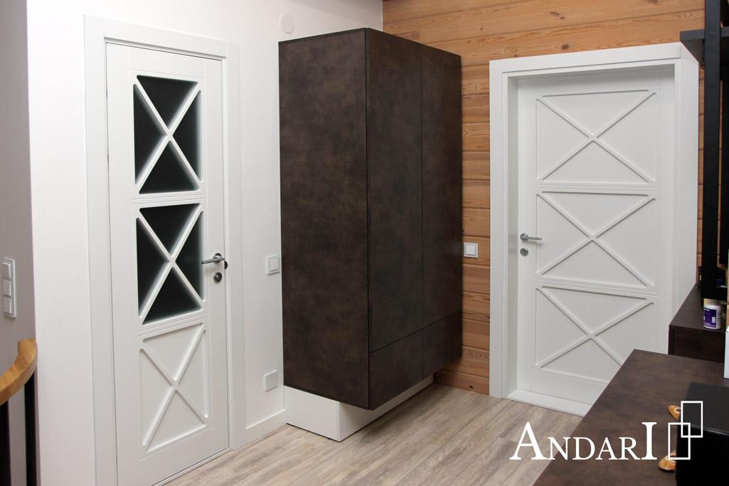 Распашной шкаф с выдвижными ящиками - Андари