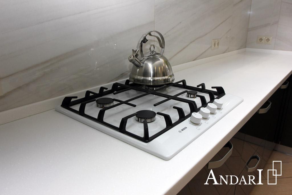 Столешница из искусственного камня на кухне - Андари