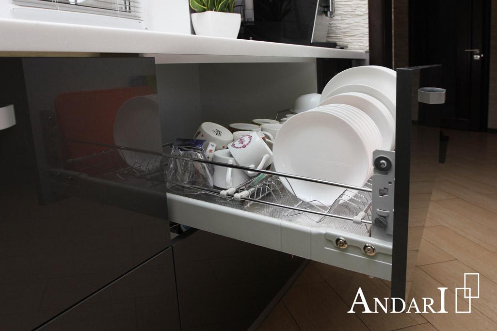 Выдвижная сушка Inoxa в нижнюю базу на кухне - Андари