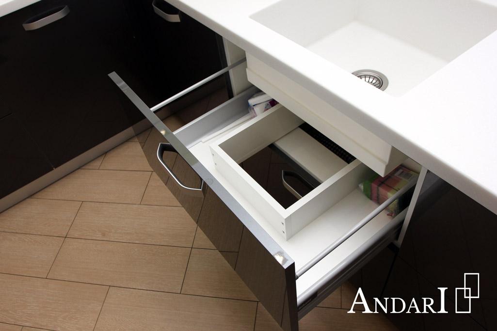 Выдвижной ящик под мойкой Tandem Box Blum - Андари