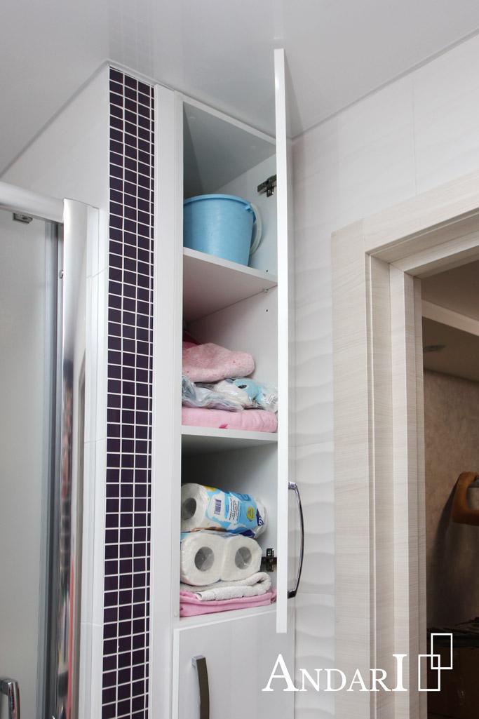 Корпусной шкаф в санузле - Андари