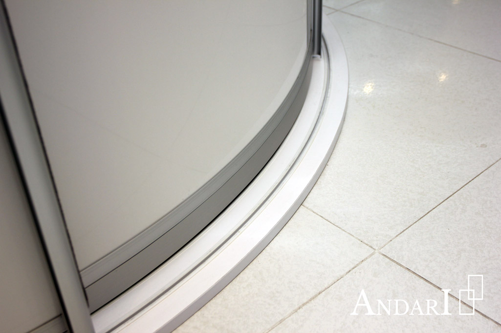 Направляющие для радиусных дверей-купе - Андари