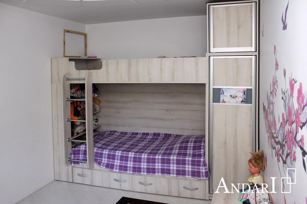 Детский комплекс с двухъярусной кроватью - Андари