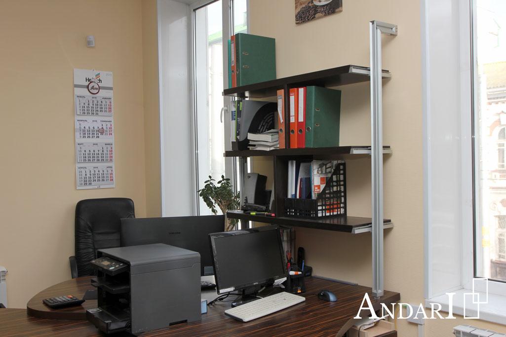 Стеллаж на системе алюминиевых профилей Komandor - Андари