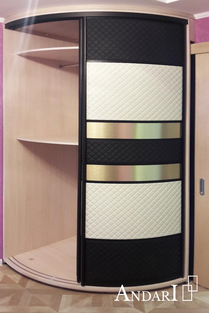 Наполнение радиусного шкафа-купе: вешалки - Андари